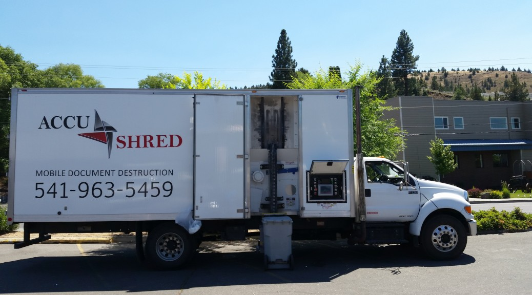 Accu Shred Truck